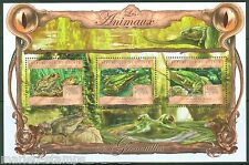 GUINEA  2013 THE ANIMALS  FROGS  SHEET MINT NH