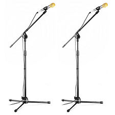 Neewer 2 Pack Microphone Kit (Condenser Microphone+Floor Stand+Mic Cable)
