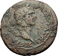 NERVA 96AD Sardes Lydia Demeter VERY RARE Authentic Ancient Roman Coin i59347