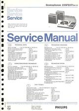 Philips Original Service Manual für 22 GF 827