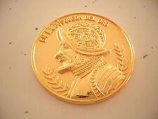 VHT Event GPS Adventure Quest En La Busqueda Del Oro 2006 Geocoin, gold