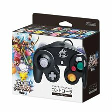 NEW Nintendo GameCube Controller Wii U Super Smash Bros. Black Japan Import