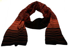M Missoni Womens Orange Multi Scarf FDCMS505 MM2319-347  Sz OS