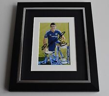 Oscar SIGNED 10x8 FRAMED Photo Autograph Display Chelsea Football AFTAL & COA
