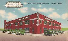 Cascade Laundry Omaha Laundry Company Omaha NE Advertising Postcard
