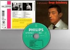 """SERGE GAINSBOURG """"N°3 L'étonnant"""" (CD Digipack) 1961-2001"""