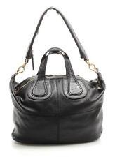 Givenchy Black Leather Nightingale Satchel Bag