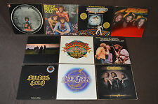 THE BEE GEES 10 LP RECORD ALBUMS LOT COLLECTION Best/Greatest/ESP/Live/Tin Can+