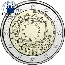 Finnland 2 Euro Gedenkmünze 2015 bfr. 30 Jahre Europaflagge