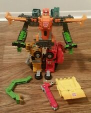2001 Hasbro Transformers R.I.D. LANDFILL Autobot Combiner 100% Complete