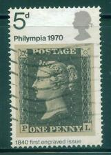 [JSC] 1970 Philympia 5d GB stamp UK Penny Black
