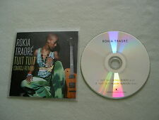 ROKIA TRAORE Tuit Tuit (Smadj Remix) promo CD single Beautiful Africa