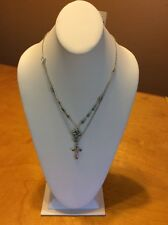 Lucky Brand Double Cross Necklace $24.50 Mac23