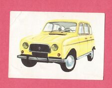 Renault R4L -  1964 Car Jacques Chocolate Card from Belgium #153