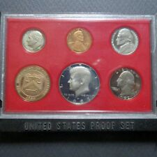 "*1982S  KENNEDY HALF  6-COIN ""PROOF"" SET, San Francisco Mint in Display Case #B"