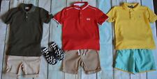 Boys Designer Summer Clothes Bundle Moncler Hugo Boss Ralph Lauren 3-4 Years Vgc