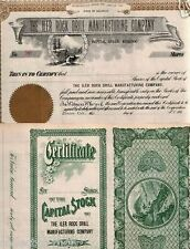 XXX-RARE 1900 COLORADO MINING STOCK w PIKE's PEAK, GOLD SEAL! RETAIL VALUE $100!