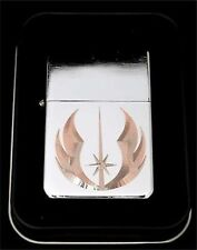 JEDI Order Star Wars Jedi Engraved Chrome Cigarette Favor Lighter Gift LEN-0014
