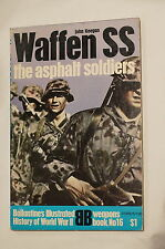 WW2 German Waffen SS The Asphalt Soldiers Ballantiens Reference Book