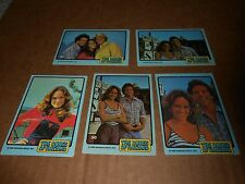 5 1980 DONRUSS DUKES OF HAZZARD CATHERINE BACH/DAISY DUKE TRADING CARDS LOT11