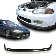 Fit for 92-95 Honda Civic Coupe Hatchback JDM BYS Style Front Bumper Add on Lip