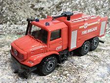 321 Majorette® Fire Brigade Feuerwehrwagen Mercedes ca. 1:87 Wasserwerfer Neu