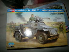 1:35 HOBBYBOSS German le. PZ. SP. WG sd.kfz.221 più facilmente panzerspaehwagen earlyovp