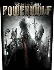 POWERWOLF blood of the saints 2012 - GIANT BACK PATCH 36 x 29 cms no longer made
