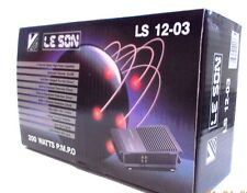 LE SON 200 WATTS P.MP.O - 4 CHANNEL  CAR STEREO AMPLIFIER  - LS 12-03 - NEW