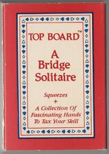 Top Board A Bridge Solitaire Squeezes Card Deck Game - Stocking Stuffer
