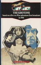 Dr Doctor Who - The Krotons. Blue spine Unread,VGC but see listing! Target books