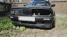 BMW E30 3 series Front Bumper spoiler lip IS sport chin M Power tuning 318is abs