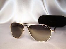 1 day sale! Authentic! Tom Ford Marko Sunglasses FT0144 28D Rose Gold/Polarized