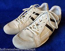 HUGO BOSS white black sneaker tennis sport shoe 45 12 50188671 old skool ivory
