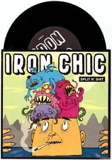 "Iron Chic ""Split N' Shit"" 7"" OOP Latterman Such Gold Rvivr Title Fight"