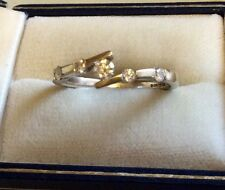 Stunning Ladies Very High Quality Solid 18ct Gold Fancy 5 Stone Diamond Ring - T