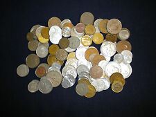 World coins bulk mix approx 1kg (150+ coins)