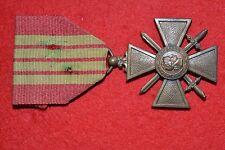 7' MÉDAILLE MILITAIRE CROIX DE GUERRE 1939 MEDAGLIA WW2 FRENCH MEDAL