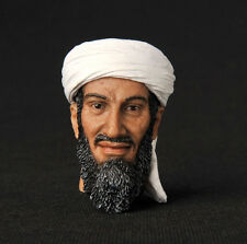 "12"" Figure HEADPLay Model Toy Osama bin Mohammed bin Awad bin Laden Man 1/6 Head"