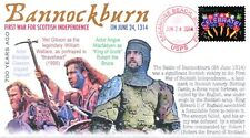 COVERSCAPE computer designed 700th anniversary Battle of Bannockburn event cover