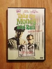 Take the Money and Run (1969) Like New DVD Woody Allen, Janet Margolin