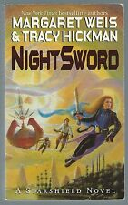 Nightsword Margaret Weis & Tracy Hickman Orbit 1999 Paperback Good Condition