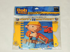 NEW  ~BOB THE BUILDER ~1- HAPPY BIRTHDAY BANNER 5.67 FT. LONG   PARTY SUPPLIES