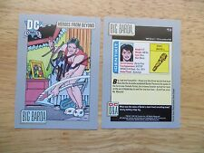 1991 DC COSMIC HEROES FROM BEYOND BIG BARDA CARD SIGNED KEVIN MAGUIRE, WITH POA