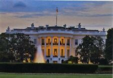 3D Lenticular Postcard - White House by Day and Night - Greeting Card