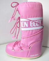 Tecnica MOON BOOT Nylon rosa Gr. 31 - 34  Moon Boots Moonboots pink