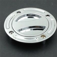 Fuel Tank Gas Cap For Suzuki Gsx-R 600 750 1000 Gsx 1300R Hayabusa Sv 650 CHROME