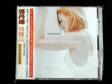 Madonna Something To Remember Taiwan w/obi CD 1995 Best Of Promo 32-P Booklet