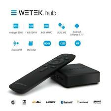 WeTek 4K UHD Hub Wireless Android & OpenELEC TV Box with Bluetooth & FREE UK P&P