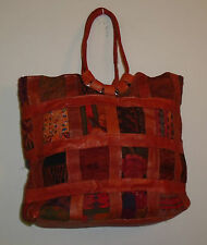 Urban Outfitters Stela 9 Condesa Tapestry Patchwork & Leather Tote Bag S/O $259